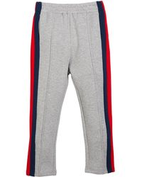 e8d73e37 Lyst - Gucci Web-trim Jogger Pants for Men