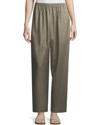 Eskandar - Wool Japanese Trousers - Lyst