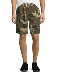 Ovadia And Sons - Men's Tribeca Camo Cargo Shorts - Lyst