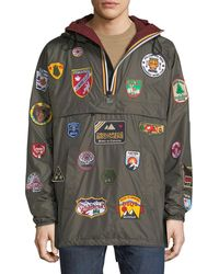 DSquared²   X K-way® Nylon Packable Jacket With Patches   Lyst