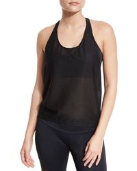 Onzie - T-back Mesh Athletic Tank - Lyst