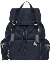 Burberry - Men's Nylon Rucksack Backpack - Lyst
