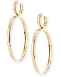 Lana Jewelry - Bubble Large Hoop Drop Earrings - Lyst