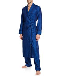 Derek Rose - Men's Paris 15 Cotton Robe - Lyst