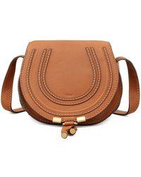 Chloé - Marcie Small Leather Cross-Body Bag - Lyst f22d22ad12