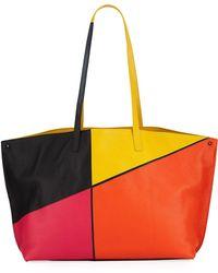 Akris - Ai Medium Sunrise Patchwork Shoulder Bag - Lyst