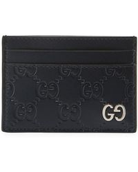 Gucci - Signature Card Case - Lyst