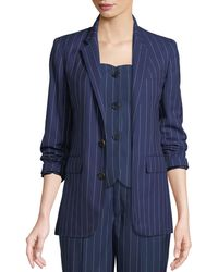 Ralph Lauren Collection - Roberts Single-breasted Pinstriped Wool Jacket - Lyst