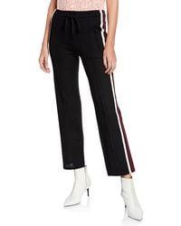 Étoile Isabel Marant - Dobbs Sporty-knit Drawstring Jogger Trousers - Lyst