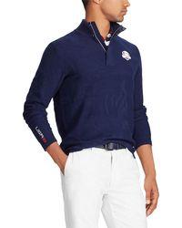 Ralph Lauren - Men's Tonal Camouflage-print Golf Sweater - Lyst