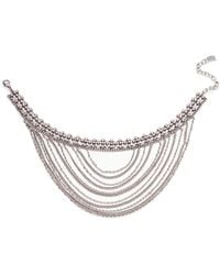 DANNIJO - Odion Layered Chain Statement Necklace - Lyst