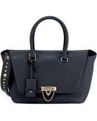 Valentino - Demilune Small Double-handle Flap-top Bag - Lyst