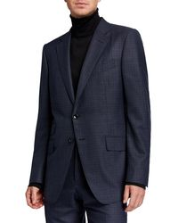 Tom Ford - Men's Micro Tattersall Two-piece Suit - Lyst