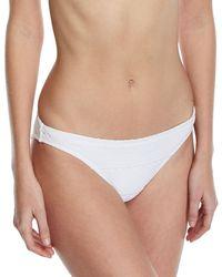 Letarte - Crochet Lace Swim Bikini Bottoms - Lyst