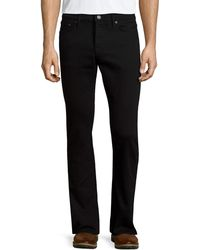 Burberry - Five-pocket Straight-leg Denim Jeans - Lyst