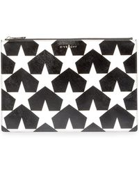 Givenchy - Iconic Prints Star-print Large Pouch Bag - Lyst