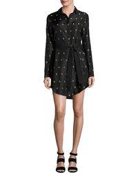 Maiyet | Long-sleeve Printed Silk Shirtdress | Lyst