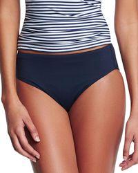Seafolly - Retro Power Swim Bikini Bottom - Lyst