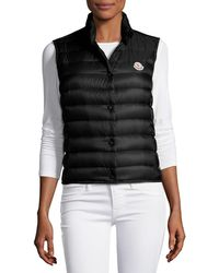 Moncler - Liane Quilted Down Gilet - Lyst