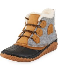 Sorel - Out-n-about Plus Waterproof Duck Boots - Lyst