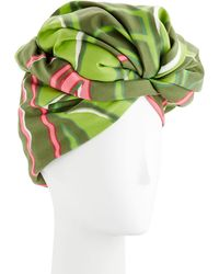 Marc Jacobs - Graphic Flower Pattern Turban - Lyst