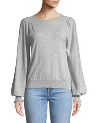 Joie - Edenka Blouson-sleeve Sweater - Lyst