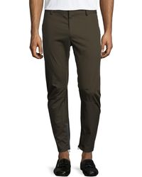 Lanvin - Cotton Biker Pants - Lyst