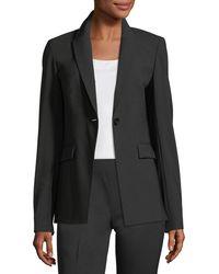 Lafayette 148 New York - Audra Wool-blend Blazer - Lyst