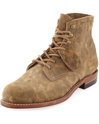 Wolverine - Camouflage-print 1000 Mile Boot - Lyst