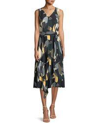 Lafayette 148 New York - Telson Ornamental Mosaic Dress - Lyst
