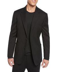 Z Zegna - Men's Solid Black Soft Sportcoat - Lyst