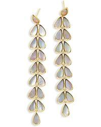 Ippolita | 18k Rock Candy Long Mother-of-pearl Teardrop Earrings | Lyst