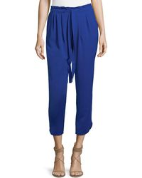 Ramy Brook - Allyn Cropped Pull-on Pants - Lyst