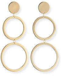 Lana Jewelry - Fifteen 14k Double-drop Earrings - Lyst