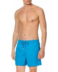3088f7d259 Vilebrequin Moorea Dolphin Water-reactive Swim Shorts in Blue for ...