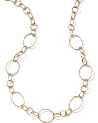 Ippolita - 18k Gold Glamazon Link Necklace With Seven Ovals - Lyst