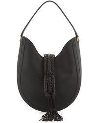 Altuzarra - Ghianda Small Leather Hobo Bag - Lyst
