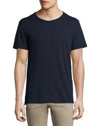 Vince - Slub Short-sleeve Crewneck T-shirt - Lyst