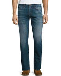 J Brand - Kane Straight-leg Washed Denim Jeans - Lyst