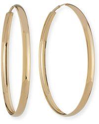 Lana Jewelry - 14k Curve Magic Hoop Earrings - Lyst