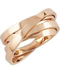 Repossi - Berbere Technical Ring In 18k Rose Gold - Lyst
