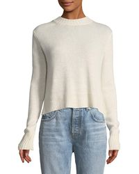 10 Crosby Derek Lam - Long-sleeve Pullover Jumper With Back Ring Detail - Lyst