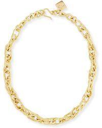 Ashley Pittman - Saka Bronze Chain Link Necklace - Lyst
