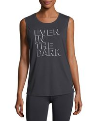 Under Armour | Even In The Dark Graphic Muscle Tank Top | Lyst