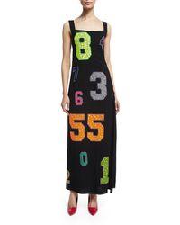 Libertine - Number-Embellished Vintage Chanel Dress - Lyst