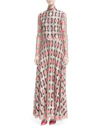 Libertine - Long-sleeve Embellished Vintage Galanos Dress - Lyst