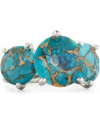 Ippolita - 925 Rock Candy Three-stone Turquoise Ring - Lyst