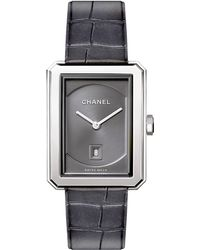Chanel - Boy-friend Stainless Steel Watch - Lyst
