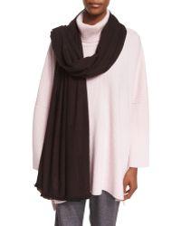 Eskandar - Handwoven Cashmere/silk Shawl - Lyst