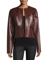Shop Women's JOSEPH Leather Jackets from $383 | Lyst